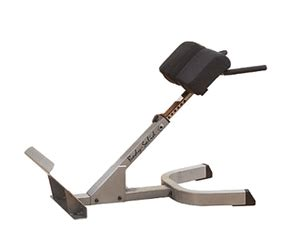body solid hyperextension bench body solid 2 quot x 3 quot 45 degree back hyperextension