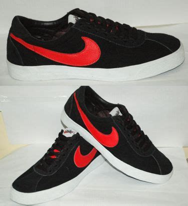 F01009 Sepatu Kets N Hitam nike model 2 hitam lis merah salmanstore onlineshop
