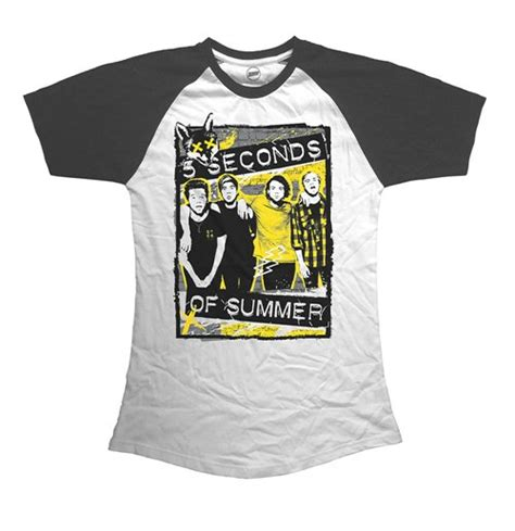 Tshirt 5 Seconds Of Summer official 5 seconds of summer t shirt 277112 buy on