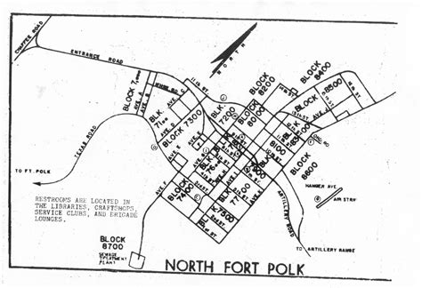 fort polk louisiana map maps of fort polk