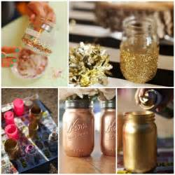 diy gold mason jars glitter inc glitter inc