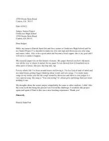 Letter To A Judge Template by Letter To The Judges Format 2011 12