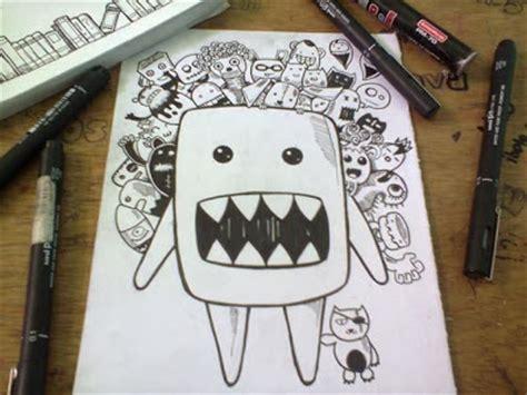doodle adalah doodle seni lukis unik