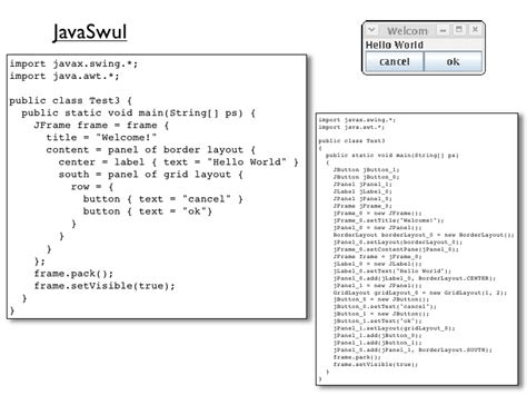 vaadin layout xml model driven software development context sensitive