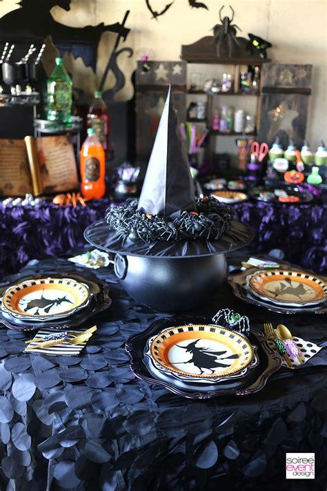 witchcraft halloween craft party soiree event design