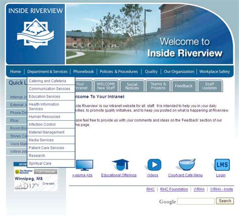riverview health centre intranet portfolio vic o neail