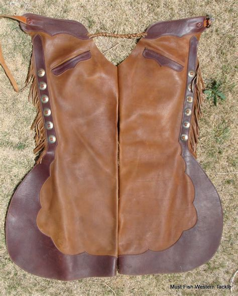 Handmade Chaps - handmade oliver saddle shop step in bell chaps