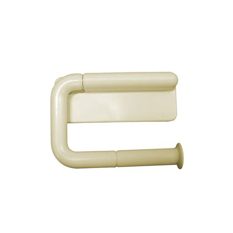 plastic toilet roll holder award ivory ezifix toilet roll holder bunnings warehouse