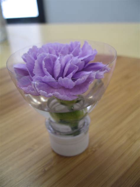 Flowers In Vase With Water by Recyle Your Water Bottle Flower Vase Ubloom