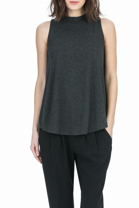 swing top shirt lilla p mock neck swing top from chicago by notice
