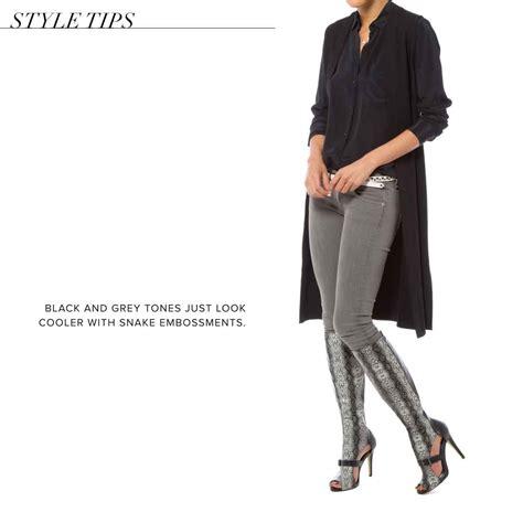 Boontie Isadora Grey paper fox isadora knee high boots ebay