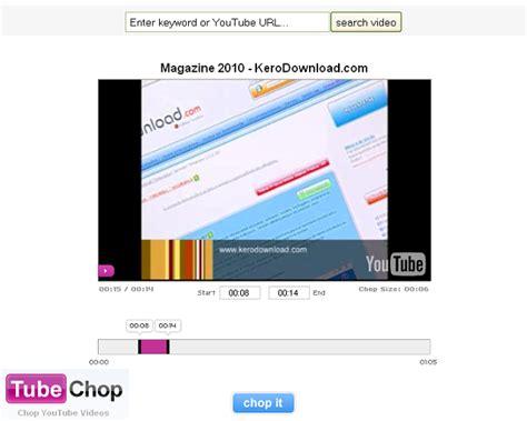 como cortar videos online aprenda a 171 cortar 187 videos do youtube online kerodicas
