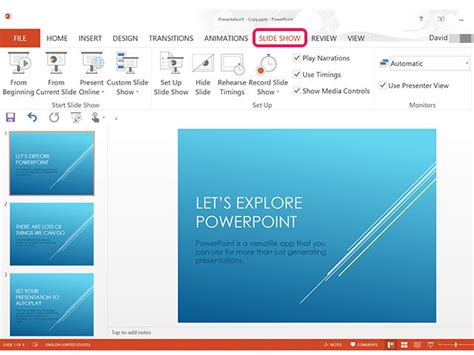 how to make a in powerpoint how to make a powerpoint presentation play automatically