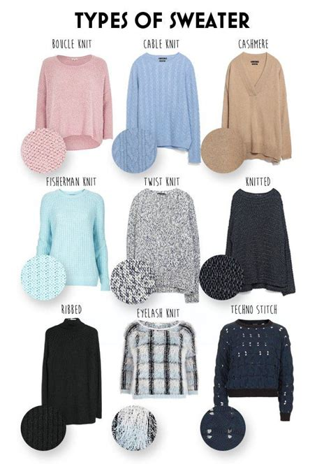 type three clothes pinterest the different types of sweater knits stylebible ph