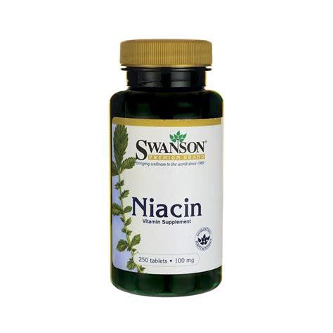 Garden Of Niacin Niacin Vitamin B 3 Swanson Vitamin Supplement Australia