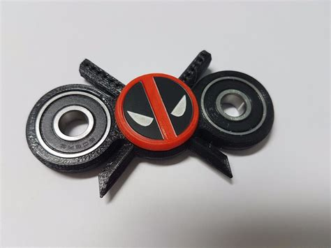 Fidget Spinner Heroes spinner fidget bearing edc deadpool new big version spinners fidget toys