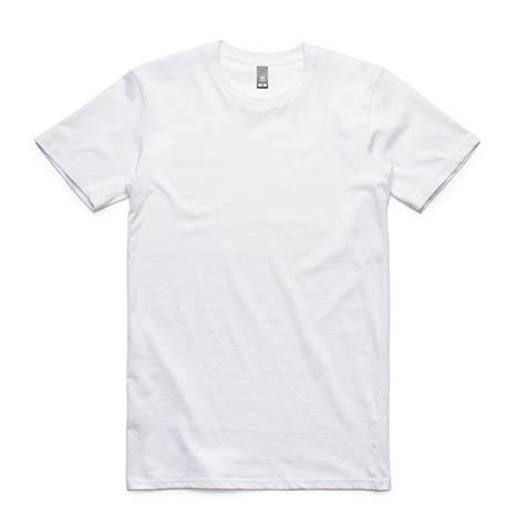 White Rea 5001 staple t shirts as colour