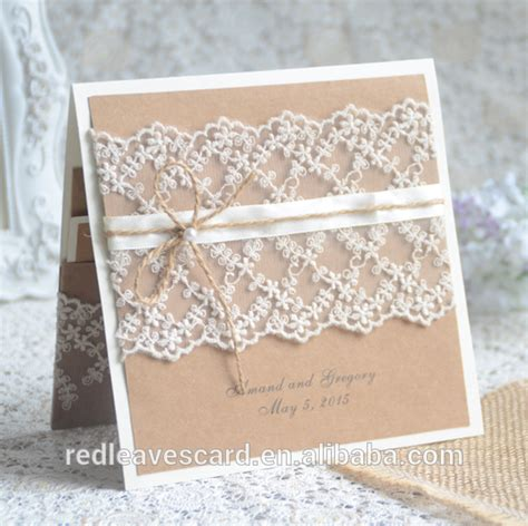 Handmade Wedding Cards Sle - paper flowers handmade wedding invitation cards