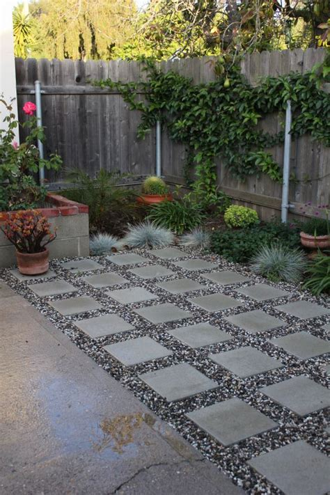 Paver And Gravel Patio Concrete Pavers And Pea Gravel My Outdoor Oasis Pinterest Decks Concrete Pavers And Spaces