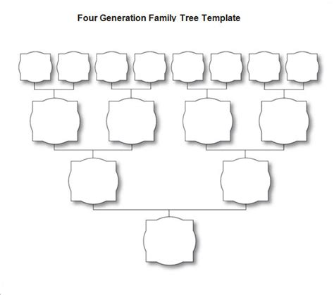 blank family tree templates blank family tree template cyberuse