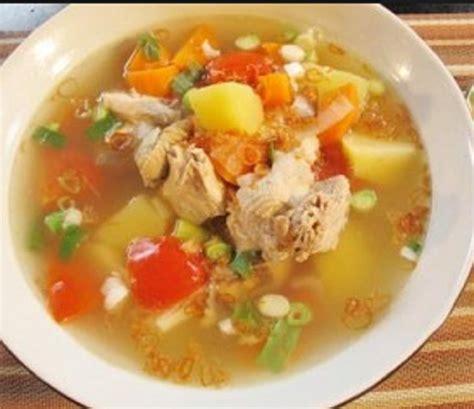 resep membuat sop buah enak resep cara membuat sop ayam enak gurih dengan mudah