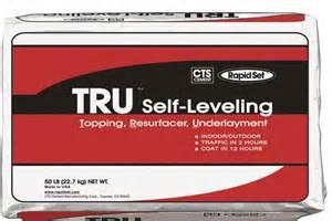 rapid set tru self leveling floor topping resurfacing