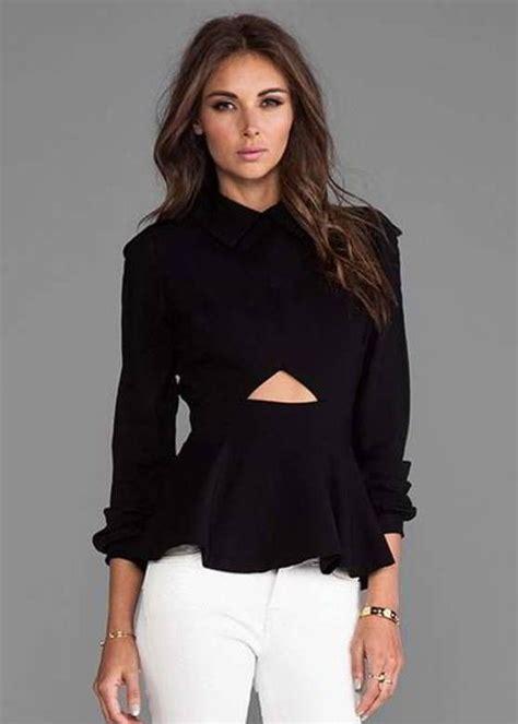 imagenes blusas negras blusas negras manga larga