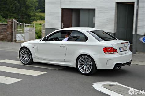 Bmw 1er Coupe M Heckschürze by Bmw 1 Series M Coup 233 11 August 2013 Autogespot