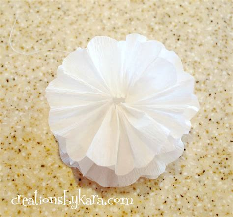 crepe paper flower tutorial new and improved crepe paper flower tutorial 004 creations by kara
