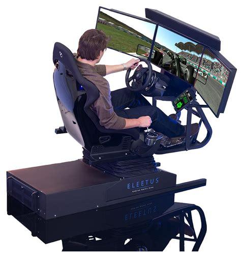 gaming setup simulator eleetus motion simulators review of the eleetus