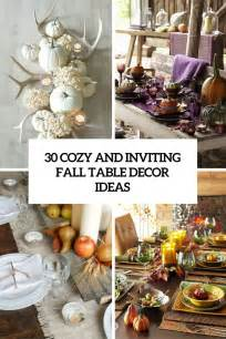 fall table decor picture of cozy and inviting fall table decor ideas cover