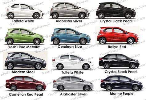 honda brio colors ส แต มรถ สำหร บ honda brio จาก thaicarpaint com คล บ
