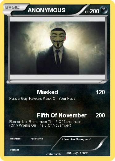 card anonymous pok 233 mon anonymous 169 169 masked my card