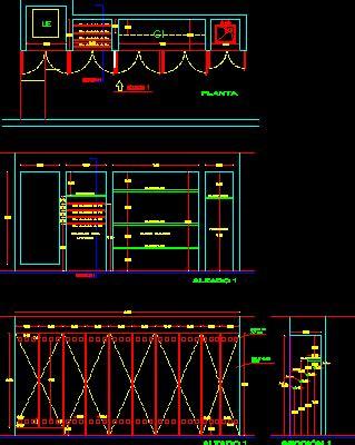 bedroom closet  dwg detail  autocad designs cad