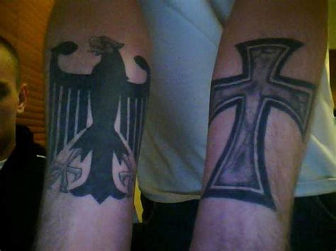 germanic tattoos german eagle and cross 5476325 171 top tattoos ideas