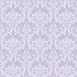 Lilac osborne damask fabric by the yard purple fabric carousel