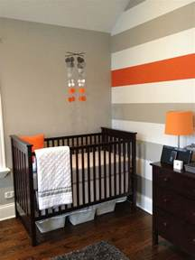 Orange Nursery Decor Grey And Orange Nursery This But With Pink Instead Of Orange Baby