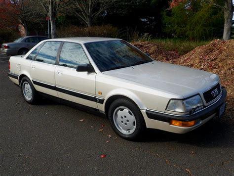 Audi V8 For Sale by No Reserve 1990 Audi V8 Quattro For Sale On Bat Auctions