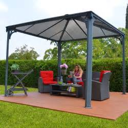 Outdoor Canopy Gazebo 12x12 by Palram Palermo 3600 Gazebo 12 X 12 Ft Gray Bronze