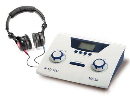 Harga Vans Gi audiometer verschillende soorten hoorzaken