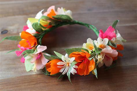 diy paper flower crown tutorial fiori di carta 10 bellissimi tutorial lunadei creativi