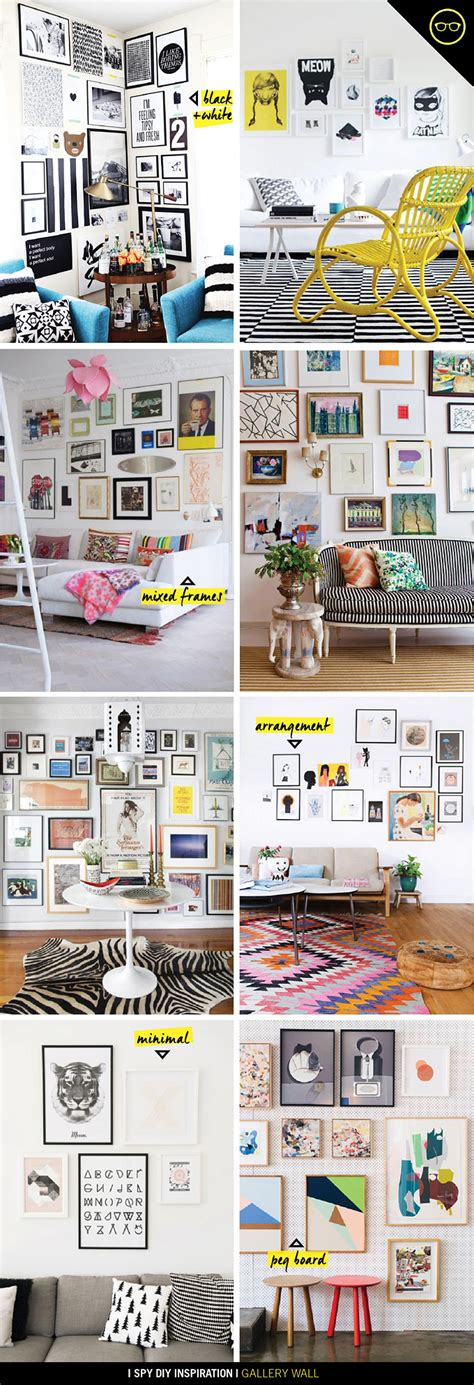 gallery wall inspiration inspiration gallery wall i spy diy bloglovin
