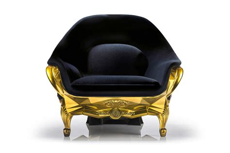 skull armchair gold skull armchair the awesomer