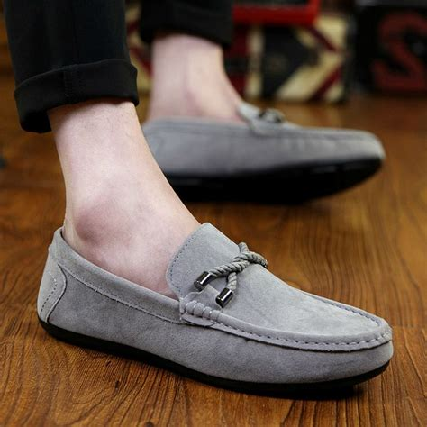 New Arrival Fashion Slip On 1698 new arrival mens flats fashion slip on comfortable walking