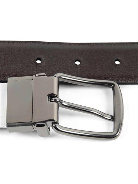 Belt Coach Wide Reversable Sign Embossed Black Original grainy leather reversible belt by coach belts ikrix