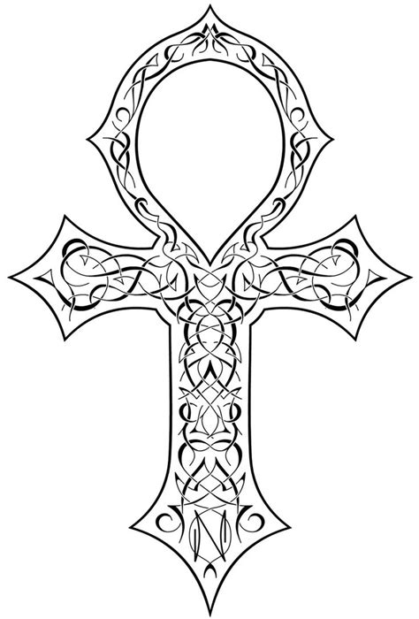 egyptian cross tattoo ankh designs ideas and meaning tattoos for you