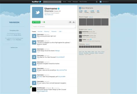 best photos of blank twitter template blank twitter page
