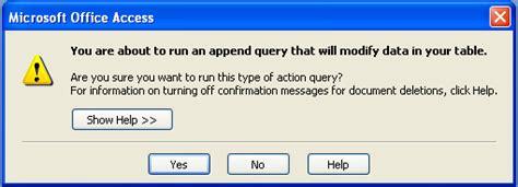 membuat query append membuat append query pada access 2007 jendela tutorial