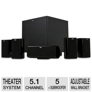 buy the klipsch hdt600 5 1 channel home theater system at