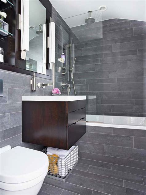 Gray Tile Bathroom Ideas 40 Gray Slate Bathroom Tile Ideas And Pictures